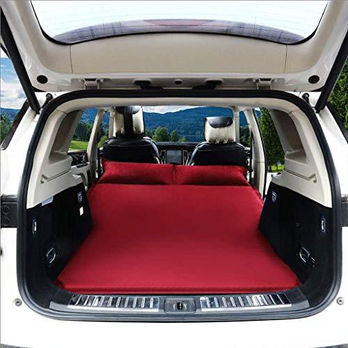 Zixin Zurück Schlaf Sitzpolster Oberfläche Auto-Spielraum aufblasbare Matratze Luftmatratze Camping aufblasbares Bett Car Aufblasbare Reiseluftmatratze Bett (Farbe: B) (Color : A)