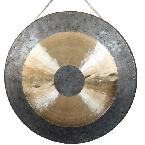 Klangschalen-Center Original Tam Tam Gong/Whood Chau Gong 50 cm, toller Klang, inklusiv Holz-/Baumwollklöppel -7021-