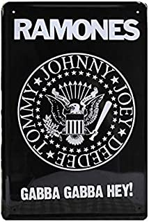 Personalized Ramones Vintage Metal Signs Tin Plaques Wall Poster for Garage Man Cave Beer Cafee Bar Pub Club Home Decor