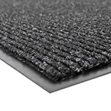 NoTrax - 109S0034CH Notrax 109 Brush Step Entrance Mat, for Home or Office, 3' X 4' Charcoal
