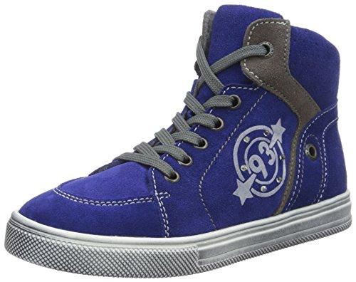 Richter Kinderschuhe Jungen Ola Hohe Sneakers, Mehrfarbig (Cobalt/Pebble 6901), 28 EU