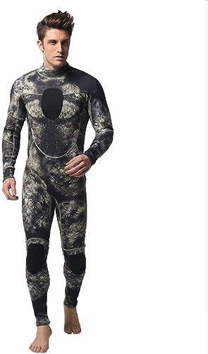 M-3Xl  Costume De PlongéE Homme, Wawer Combinaison De PlongéE Etanche Grande Taille Combinaison De PlongéE Homme Camouglage VêTeHommests De PlongéE Cool Maillots De Bain pour Hommes