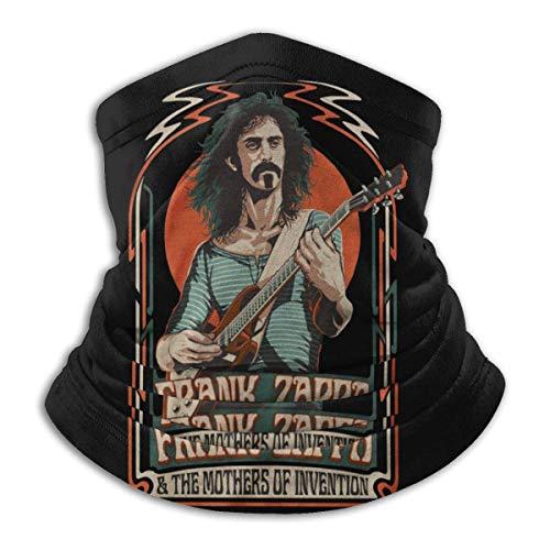 Best& Frank Zappa - Polaina para cuello unisex multifuncional, a la moda, a prueba de viento, protección UV, transpirable, pasamontañas