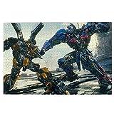 Transformers Rompecabezas de 1000 Piezas, Juego de Rompecabezas para Adultos, Juego de Juguetes de Rompecabezas