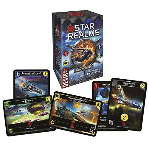 Devir- Star Realms, Juego de Mesa en Castellano, Miscelanea (222678)