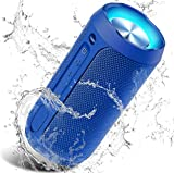 Altavoz Portátil Bluetooth, 24W Impermeable IPX7 Sonido Estéreo TWS, Construido en...