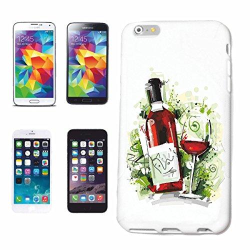 Bandenmarkt telefoonhoes compatibel met Samsung Galaxy S7 Edge rode wijn wijnglas wijnfles vintage witte wijn glühwein bier wodka jenever wijn alcohol rode wijn witte wijn