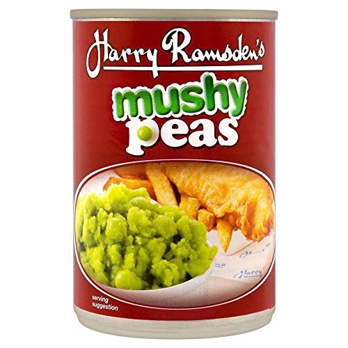 Harry Ramsden Mushy Peas (300 g) - Packung mit 6