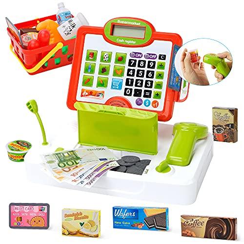 Lekebaby Spielzeug Kasse, Kaufladen...