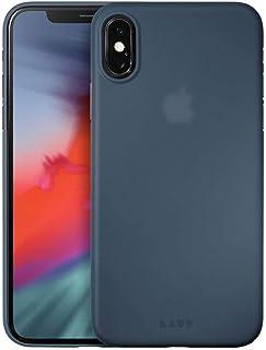 LAUT - SLIMSKIN for iPhone Xs |0.5mm Thin|Ultra Lightweight|Anti Fingerprint Matte Finish (Blue)