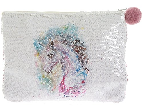 Unicorn Sequin Purse / Make Up Bag