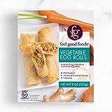 Feel Good Foods Egg Rolls gluten free Vegetable, 9Oz