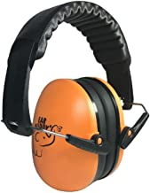 Ear Buddy Kids Ear Protection Safety Ear Muffs, Noise Reduction Hearing Protection for Kids, Toddler Ear Protection for Shooting Range for Kids Children (Orange)