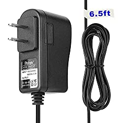 Yustda (6.6ft Long Cable) Ac Dc Adapter for Timex Decorative XBBU Dual Alarm Clock Night Light Model: T128BC3, T128BX Replacement Power Supply Cord