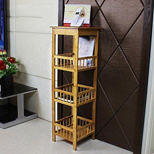 BOBE SHOP- Porte-fleurs à fleurs en bambou Balcon Séjour à l'intérieur Couches multiples étagère d'atterrissage ( taille : 100cm )
