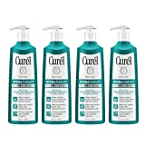 Curél Hydra Therapy, Instant Moisturizer, 12 Ounce (Pack of 4), Wet Skin Lotion for Dry or Extra-dry Skin, with Advanced Ceramide Complex, Experience Optimal Moisture Retention