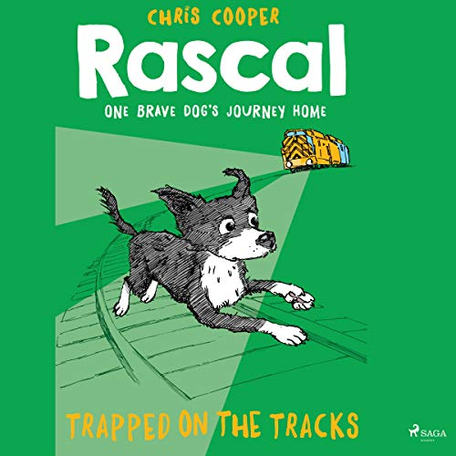 Trapped on the Tracks audiobook cover art