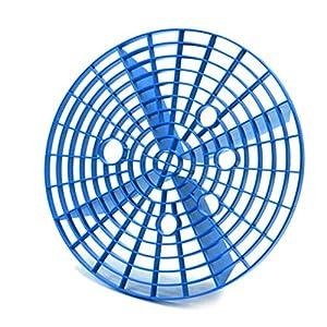 Fornateu Car Wash Suciedad Guardia Coche del lavadero del Cubo de Agua de Lavado de la Suciedad Guardia de arenilla Cartucho filtrante Automoción Lavado de Herramientas, Azul, 26cm