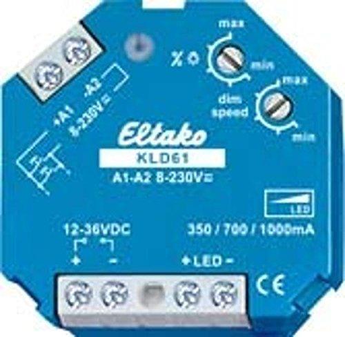 Eltako Konstantstrom-LED-Dimmschalter, 1 Stück, KLD61