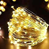 Luces de cadena LED guirnalda de alambre plateado luces de hadas decoración de la fiesta de navidad familiar luces de cadena A1 2m20 leds usb