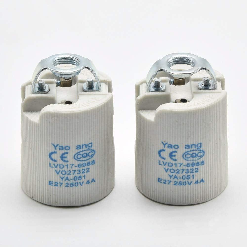 Kamas E27 CE Lamp Holder Screw Super special price Max 89% OFF Socket Bulb Edison P Vintage
