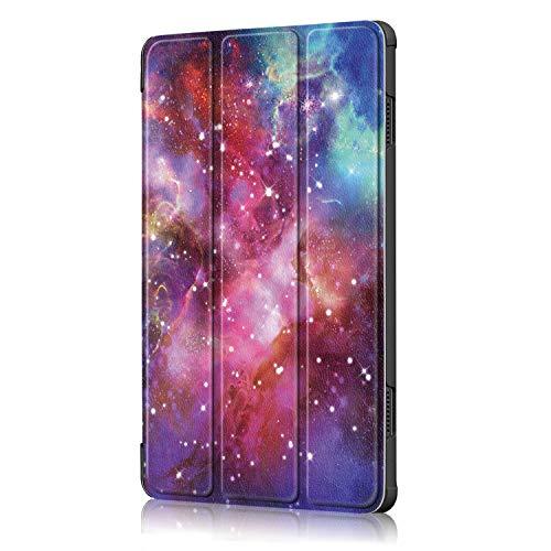 XITODA Hülle Kompatibel mit Lenovo Tab M10 TB-X605/TB-X505,PU Leder Tasche mit Stand Funktion Schutzhülle für Lenovo Tab M10 TB-X605F/L TB-X505F/L Case Cover,Galaxy