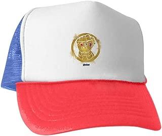 CafePress Gold Infinity Gauntlet Baseball Cap