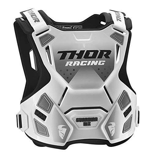 Thor Guardian MX Roost Deflector Motocross Brustpanzer Spring 2018 - Weiss schwarz