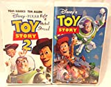 Lot of 2 Childrens VHS Tapes, Toy Story VHS, Toy Story 2 VHS