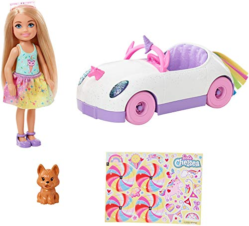 Barbie Chelsea Doll and Car, Color na. (Mattel GXT41)