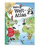 Mein Welt-Atlas: Mit vielen Stickern und Riesenposter