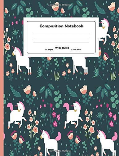 Composition Notebook: Hello Cute Pets Wide Ruled Primary Copy Notebook, SOFT Cover Girls Kids Elementary School Supplies Student Teacher Daily Creative Writing Journal