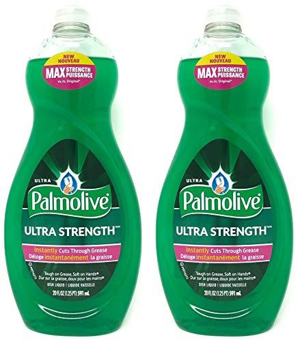 Palmolive Ultra Strength Liquid Dish Soap, Original, 20 fl oz,set of 2