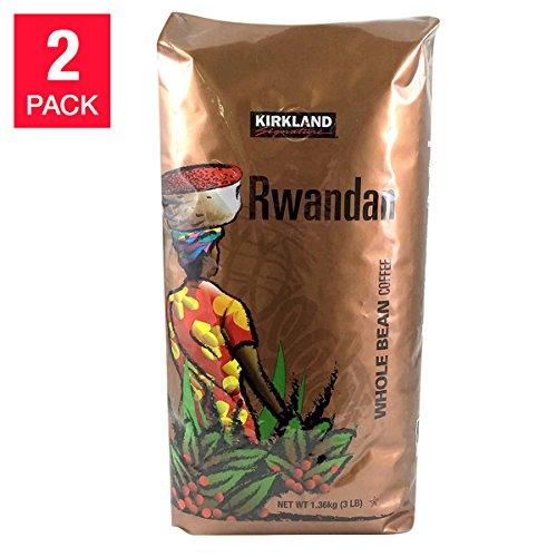 Kirkland Signature Rwanda Whole Bean Coffee 2-3LB Bags