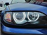 Kit Aros Ojos de Angel LED COTTON 4x 146MM CANBUS E46 FACELIFT LCI SIN PROYECTOR Blanco 6000K Angel Eyes Halo Rings E-MARK