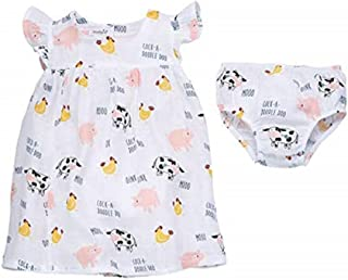 Muslin Farm Animals Dress