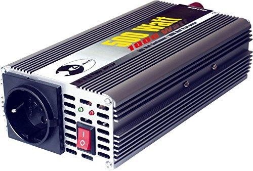 Wechselrichter 24 V DC/230 V AC 50 Hz - 500 Watt Dauerleistung 1.000 Watt kurzfristige Spitzenleistung
