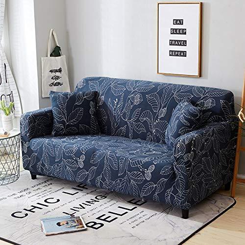 WXQY Funda de sofá de Spandex, Funda de sofá geométrica elástica, Funda de sofá Universal con Todo Incluido, Funda de sofá de Sala de Estar A22 de 4 plazas