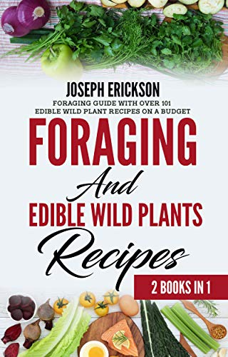 Foraging In 2020 AND Edible Wild Plants Recipes: Foraging Guide With Over 101 Edible Wild Plant Recipes On A Budget (2 Books In 1) (English Edition)