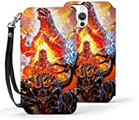 スマホケース Iphoneケース 12シリーズ ゴジラ Godzilla 手帳型 Iphone 12/Iphone 12 Pro/Iphone 12 Mini/Iphone 12 Pro Max 対応 新型 Puレザー スマホカバー カー ポケット付き Iphoneカバー ケース スマートフォン スマホアクセサリ
