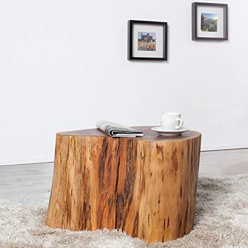 cagü: Design Unikat Couchtisch [PUNE] Akazie Baumstamm 50cm x 45cm