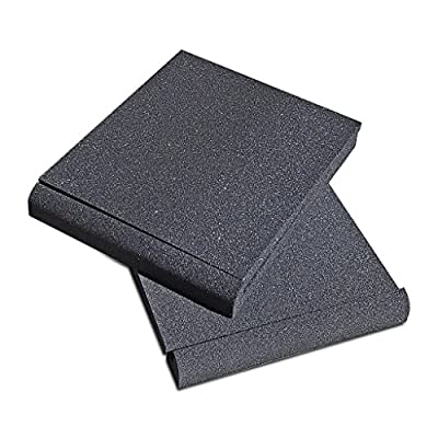 Studio Solutions High Density Studio Monitor Isolation Pads Pair For 5 Inch Monitors from Studio Solutions