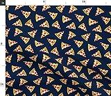 Pizza, Essen, Ungesundes Essen, Salami Pizza, Messe Stoffe