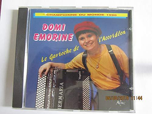 DOMI EMORINE - LA GAVROCHE DE L\'ACCORDEON - CHAMPIONNE DU MONDE 1990