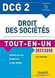 DCG 2 - Droit des sociétés 2017/2018- 10e éd. - Tout-en-Un