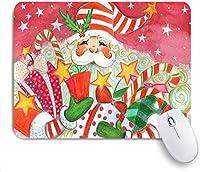マウスパッド クリスマスサンタクロースギフトの ゲーミング オフィス おしゃれ がい りめゴム ゲーミングなど ノートブックコンピュータマウスマット