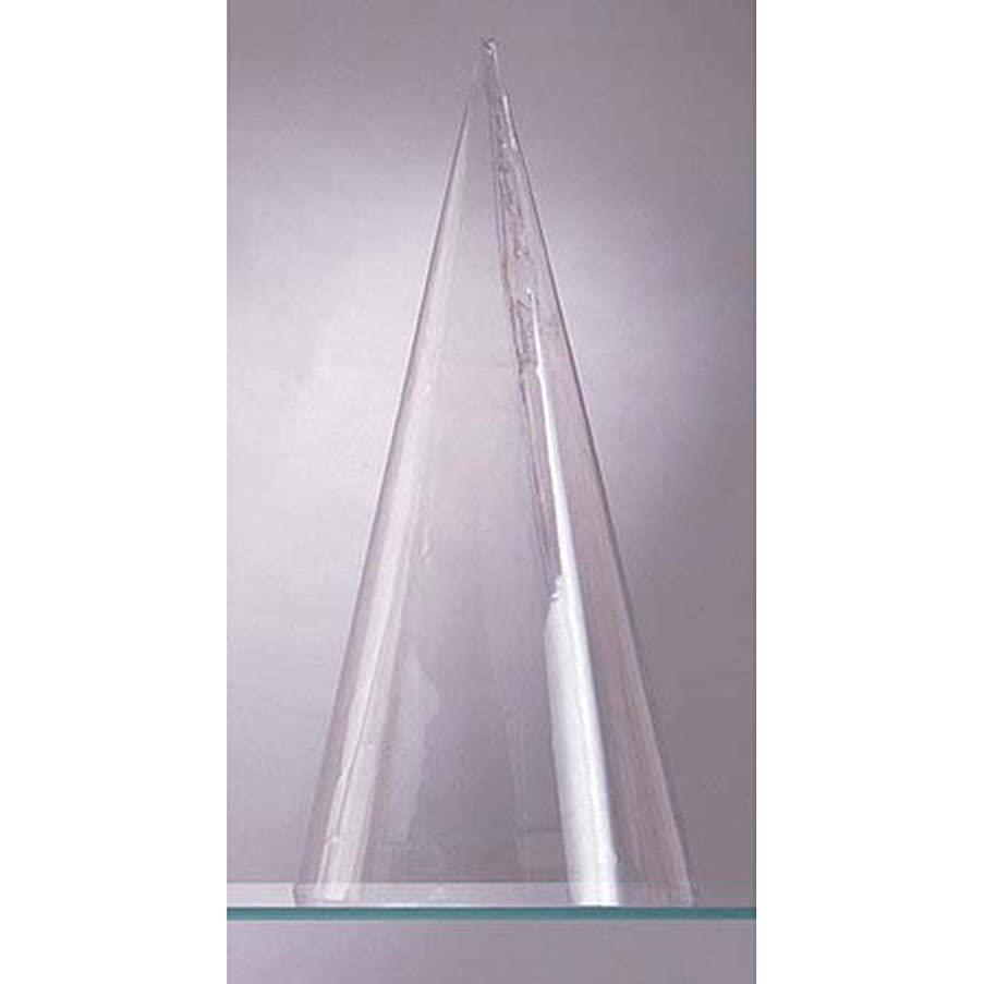 Bulk Buy: Darice DIY Crafts Plastic Cone Doll Body Clear 6.75 inches (6-Pack) 1224-18