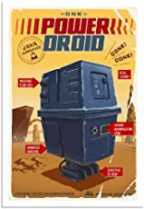 POWER DROID Star Wars Limited Edition Fine Art Giclée Print on Paper by Steve Thomas