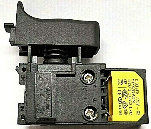 Interruptor electrónico con filtro antiinterferencias para martillo perforador Makita HR 2470, regulador