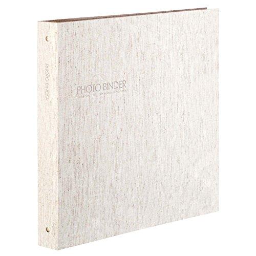 SEKISEI アルバム ポケット ハーパーハウス フォトバインダー 高透明 L300枚収容 L 201~300枚 リネン XP-3233